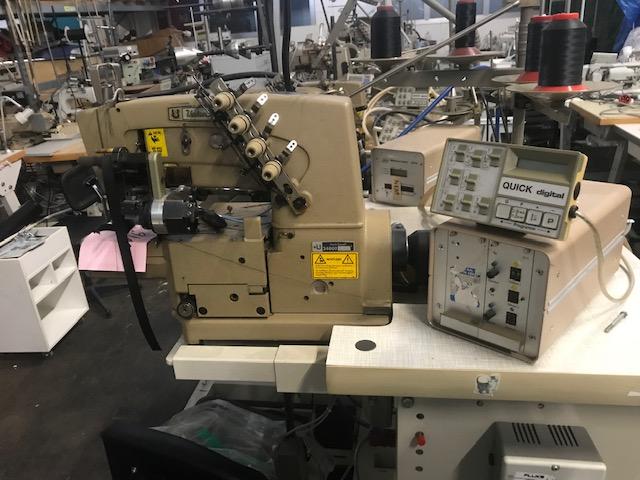 Union Special 34600 KC Heel Tape machine Stoßband Maschine