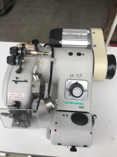 Strobel 103-161 RF-IPC  Blindstichmaschine mit Riegelstich